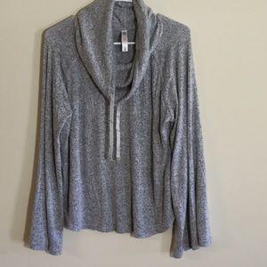 Gillgan & Omalley sleepwear cowl neck top